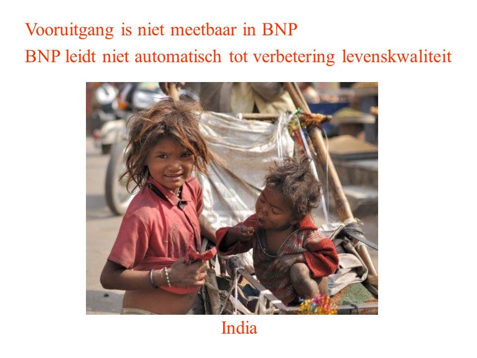 Vooruitgang is niet meetbaar in BNP