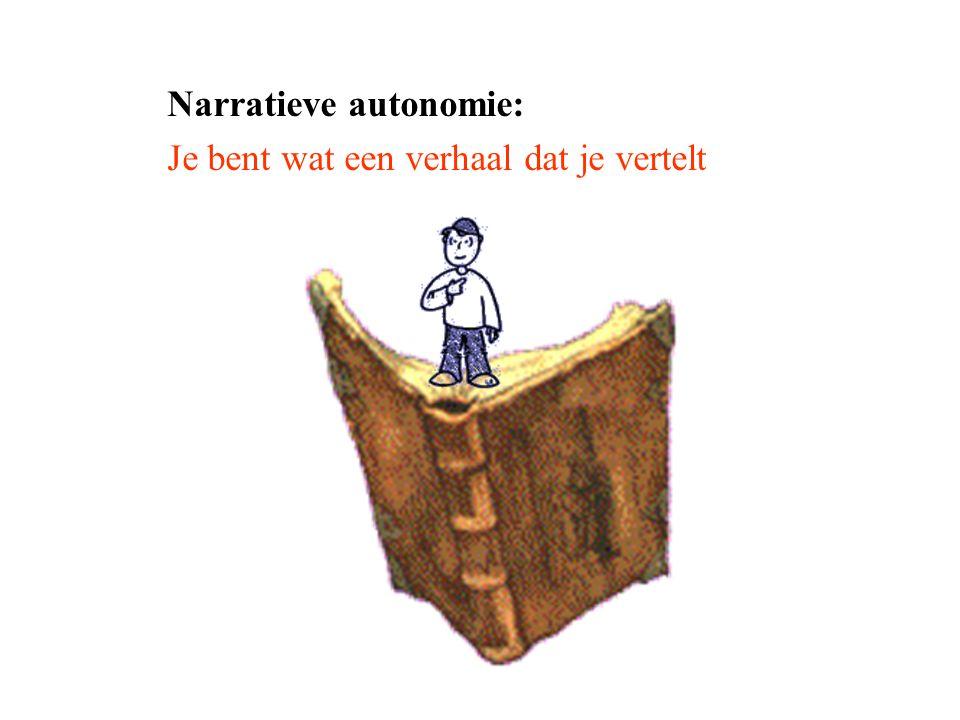 Narratieve autonomie: