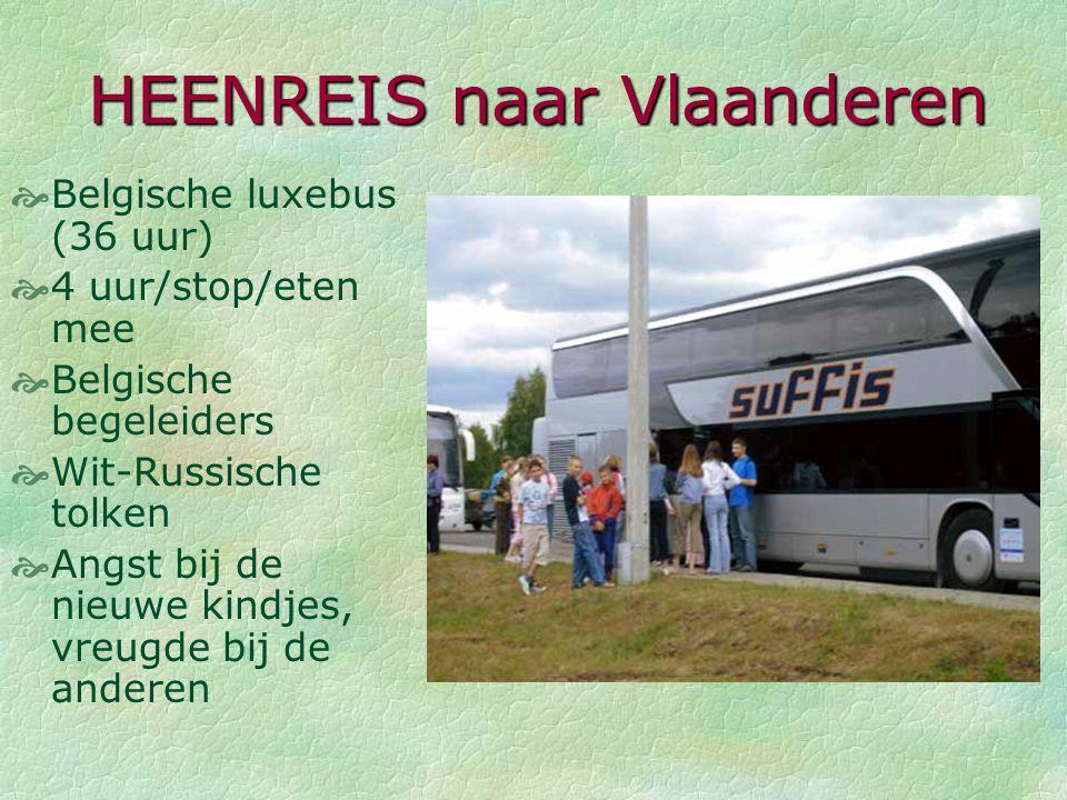 HEENREIS naar Vlaanderen