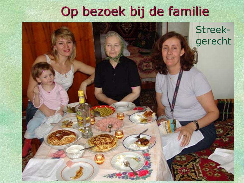 Op bezoek bij de familie