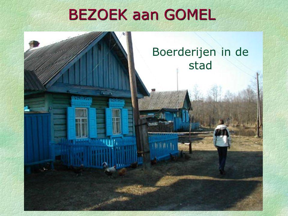 BEZOEK aan GOMEL Boerderijen in de stad