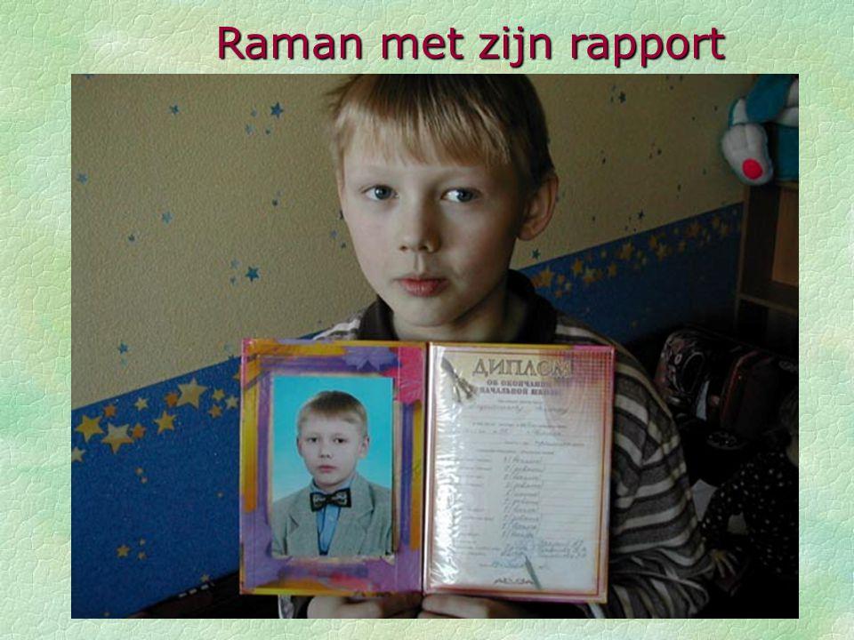 Raman met zijn rapport