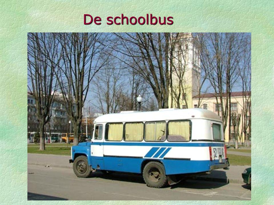 De schoolbus