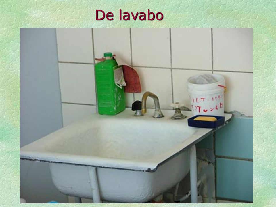 De lavabo