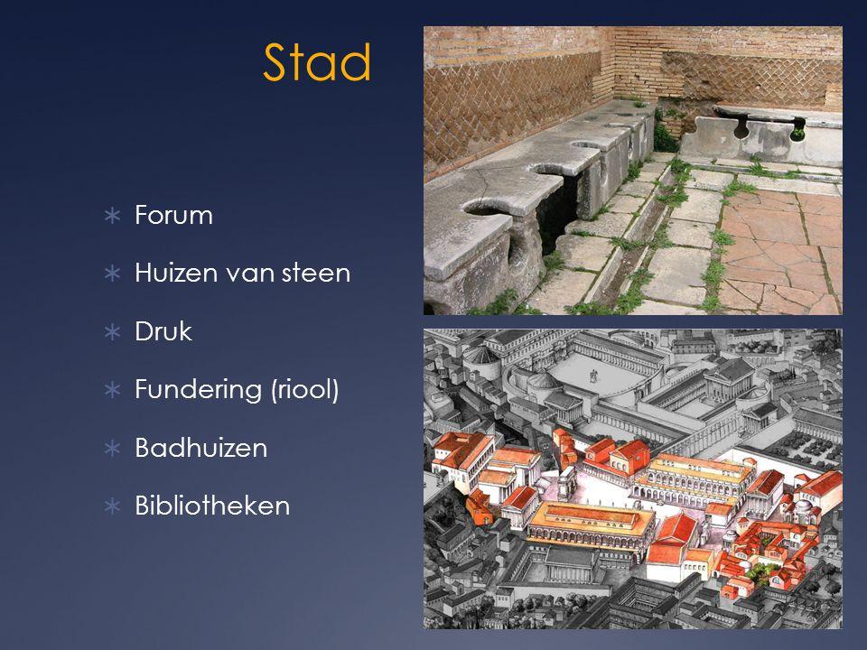 Stad Forum Huizen van steen Druk Fundering (riool) Badhuizen