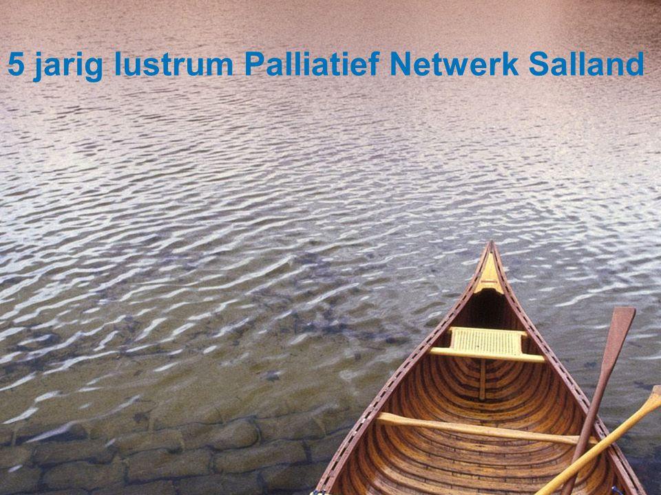 5 jarig lustrum Palliatief Netwerk Salland