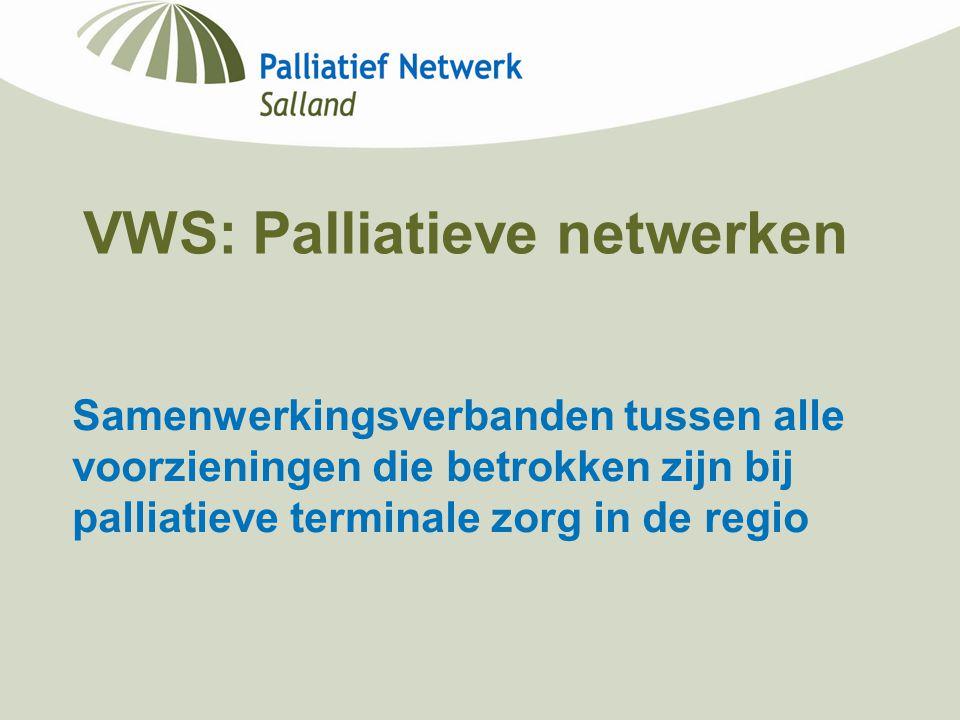 VWS: Palliatieve netwerken