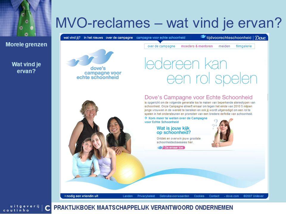MVO-reclames – wat vind je ervan