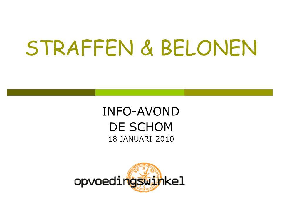 INFO-AVOND DE SCHOM 18 JANUARI 2010