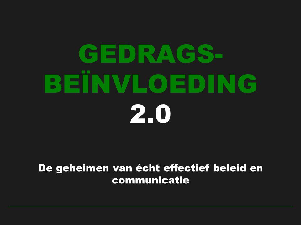 GEDRAGS-BEÏNVLOEDING 2