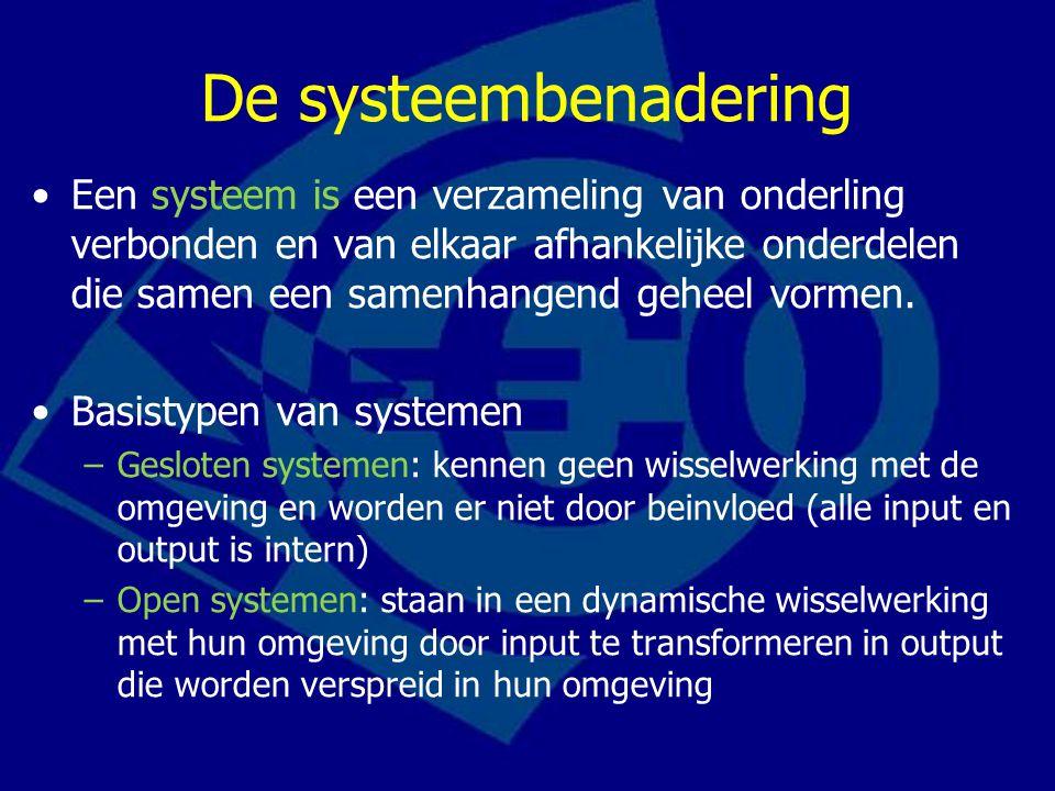 De systeembenadering