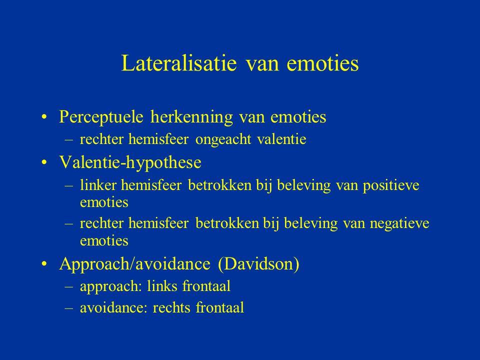 Lateralisatie van emoties