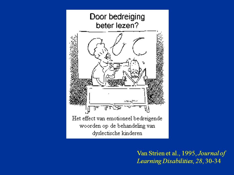 journal of learning disabilities Learning disabilities and disorders types of learning disorders and their signs does your child struggle with school does he or she dread reading out loud, writing.