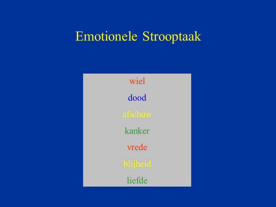 Emotionele Strooptaak