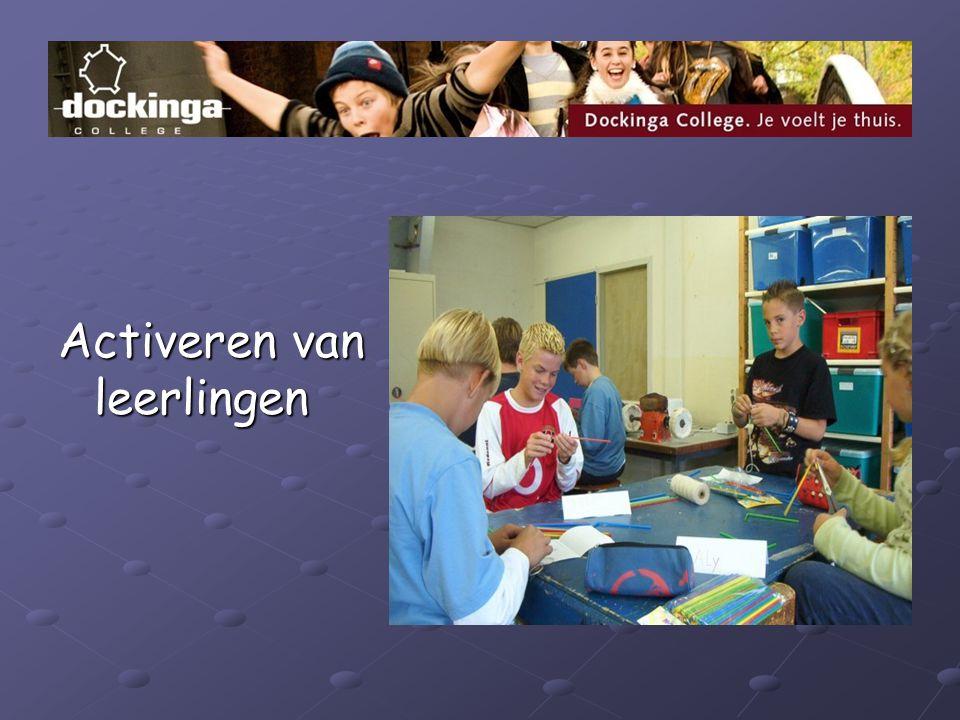 Activeren van leerlingen