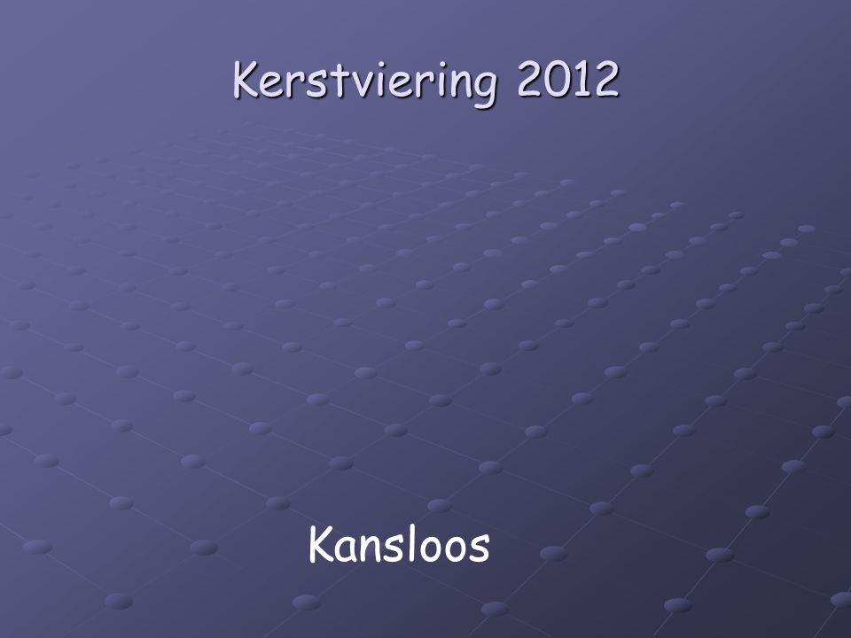 Kerstviering 2012 Kansloos