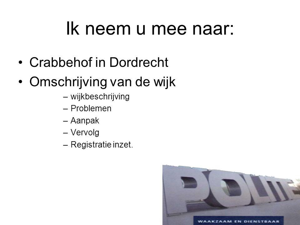 Ik neem u mee naar: Crabbehof in Dordrecht Omschrijving van de wijk