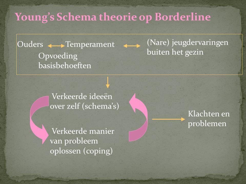 Young's Schema theorie op Borderline
