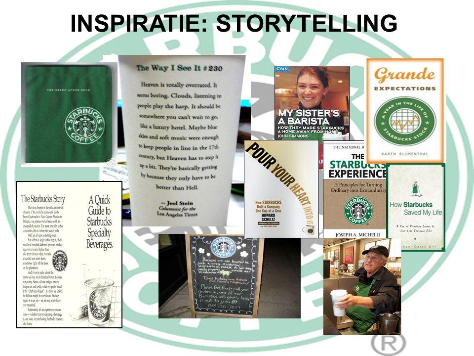 INSPIRATIE: STORYTELLING