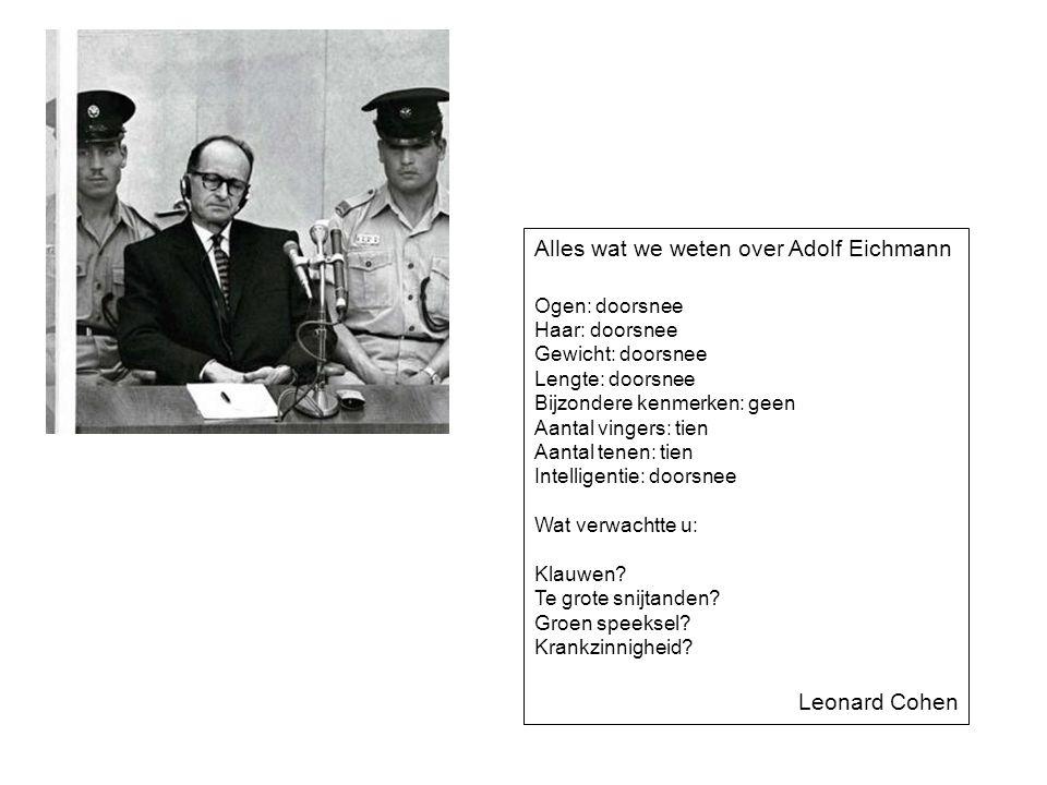 Alles wat we weten over Adolf Eichmann