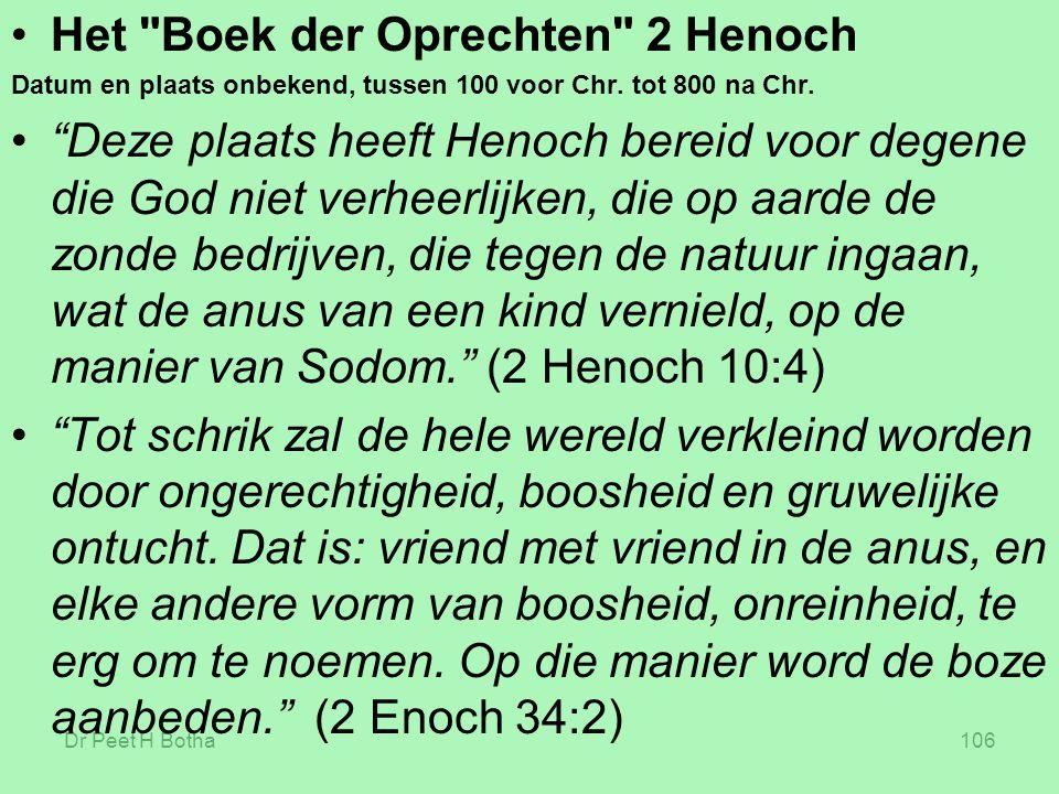 Het Boek der Oprechten 2 Henoch