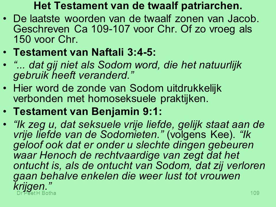 Het Testament van de twaalf patriarchen.