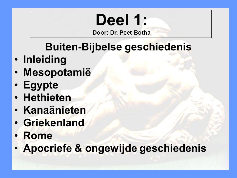 Buiten-Bijbelse geschiedenis
