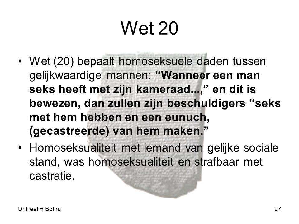 Wet 20