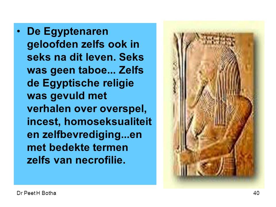 De Egyptenaren geloofden zelfs ook in seks na dit leven