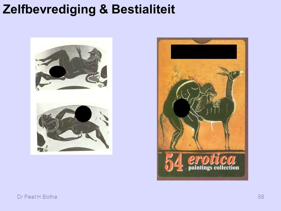 Zelfbevrediging & Bestialiteit