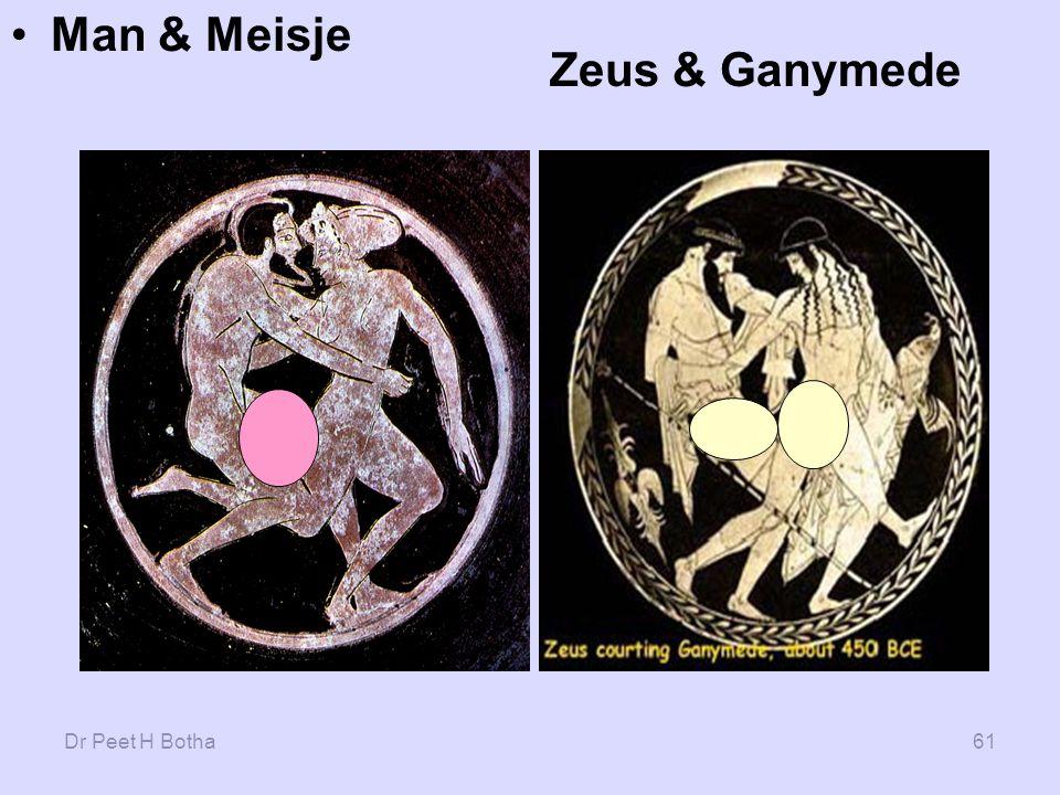 Man & Meisje Zeus & Ganymede Dr Peet H Botha