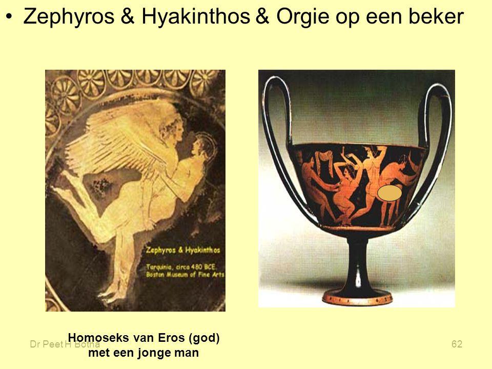 Homoseks van Eros (god) met een jonge man
