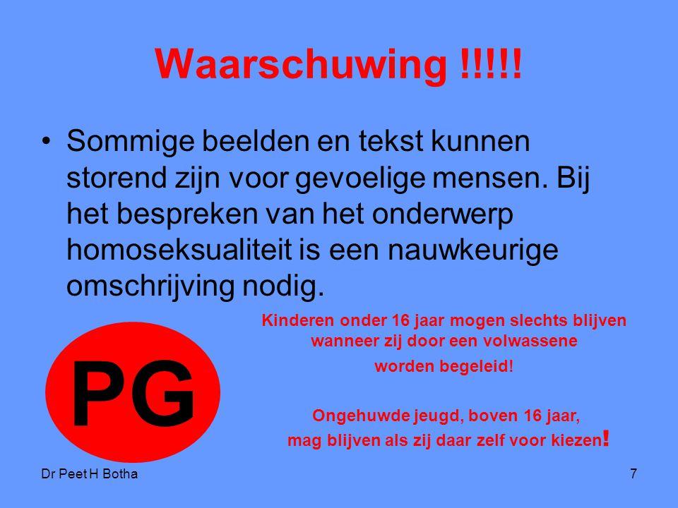 Waarschuwing !!!!!