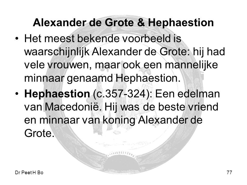 Alexander de Grote & Hephaestion