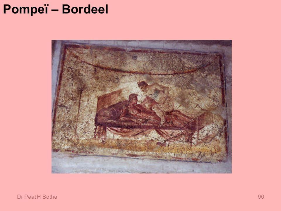 Pompeï – Bordeel Dr Peet H Botha
