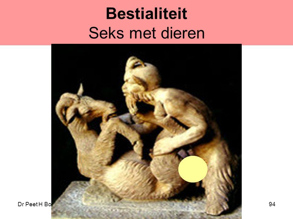 Bestialiteit Seks met dieren