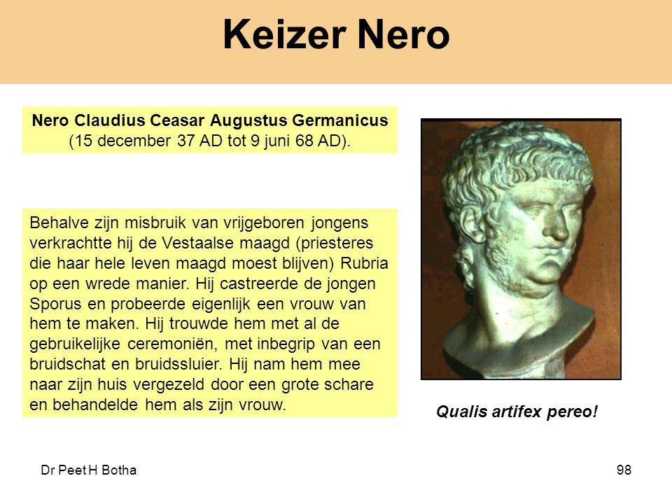 Keizer Nero Nero Claudius Ceasar Augustus Germanicus