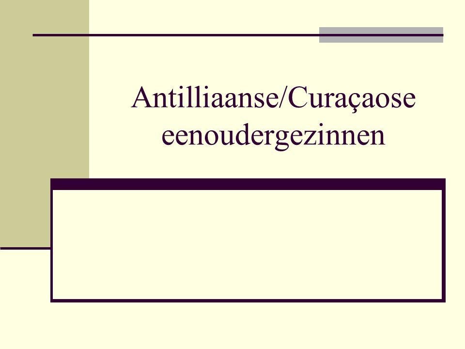 Antilliaanse/Curaçaose eenoudergezinnen