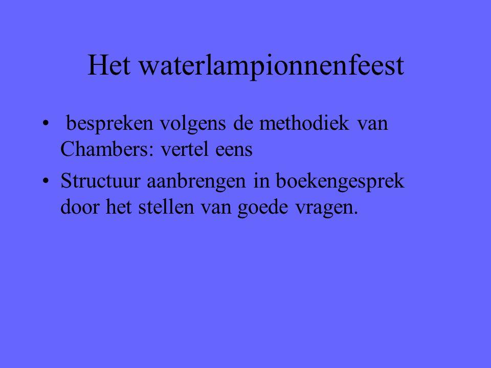 Het waterlampionnenfeest