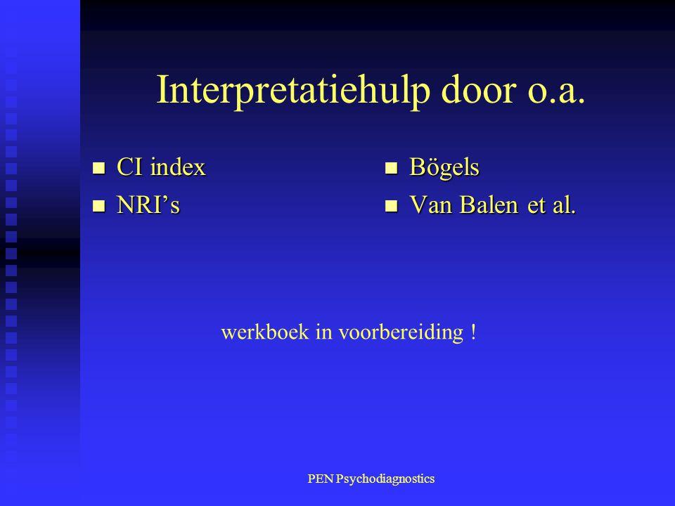 Interpretatiehulp door o.a.