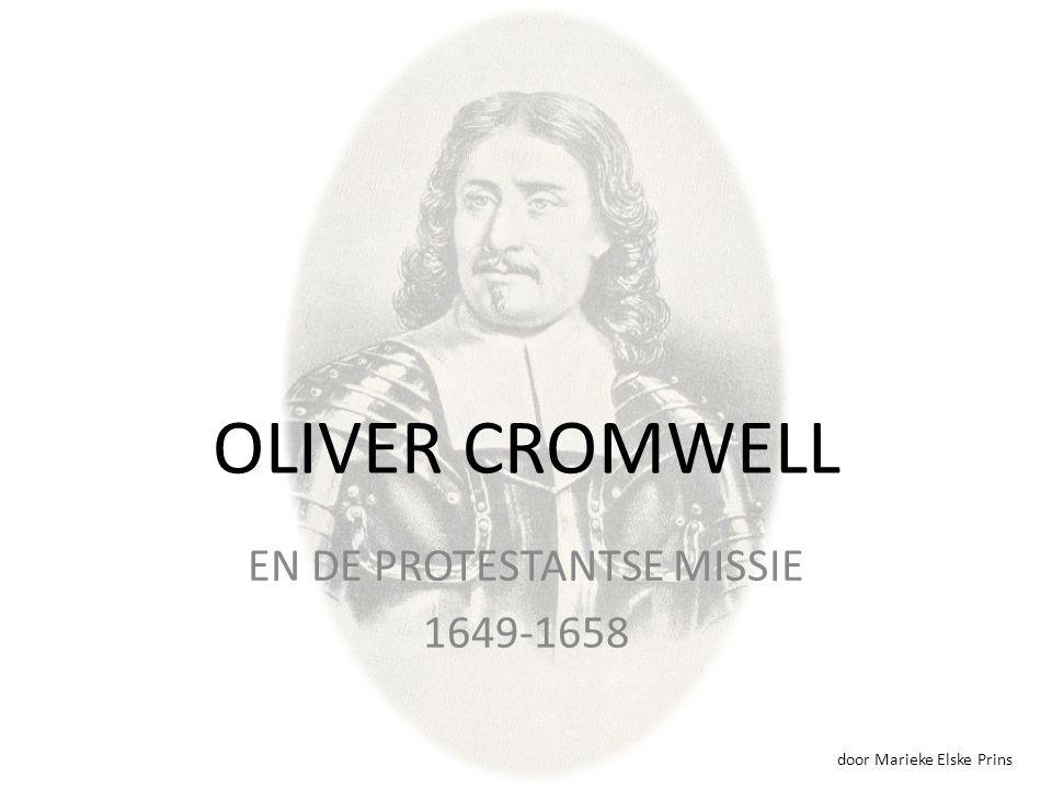 EN DE PROTESTANTSE MISSIE 1649-1658
