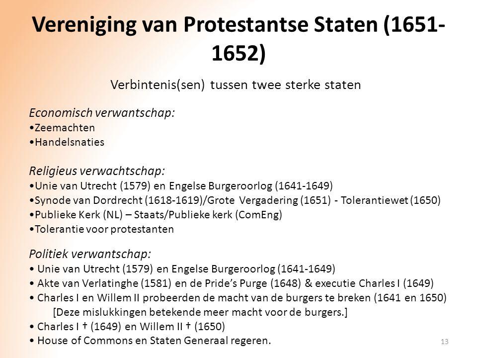 Vereniging van Protestantse Staten (1651-1652)