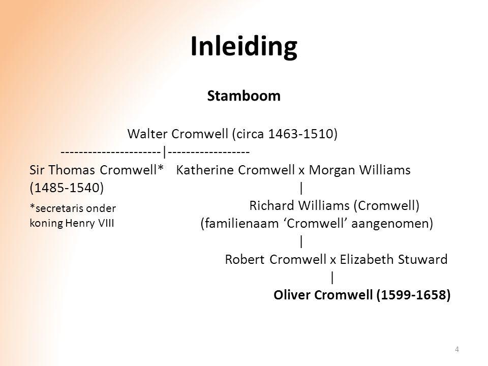Inleiding Stamboom Walter Cromwell (circa 1463-1510)