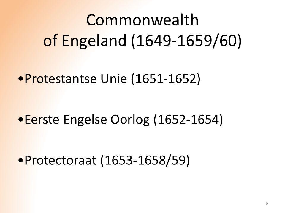 Commonwealth of Engeland (1649-1659/60)