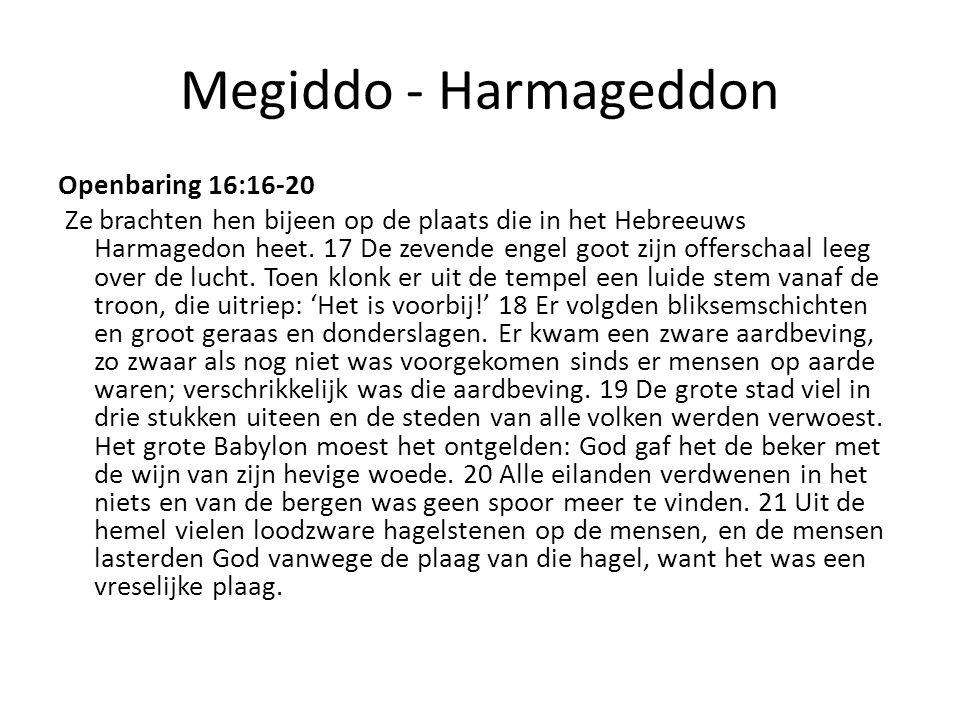 Megiddo - Harmageddon