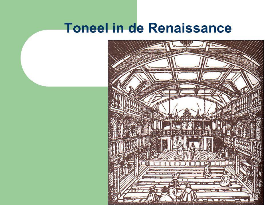 Toneel in de Renaissance