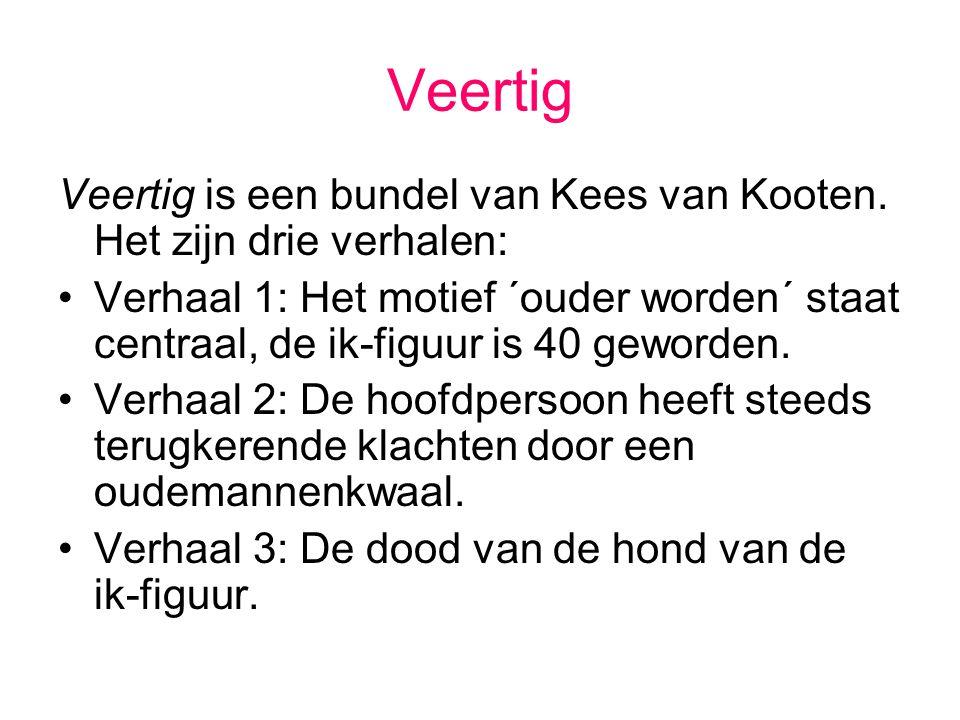 Veertig Veertig is een bundel van Kees van Kooten. Het zijn drie verhalen: