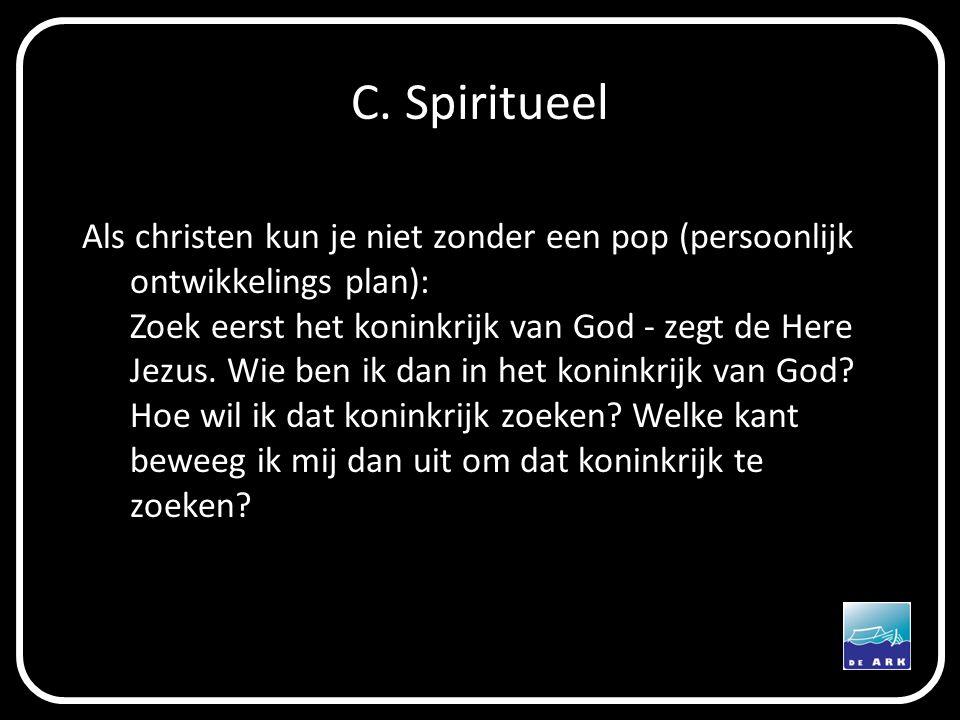 C. Spiritueel