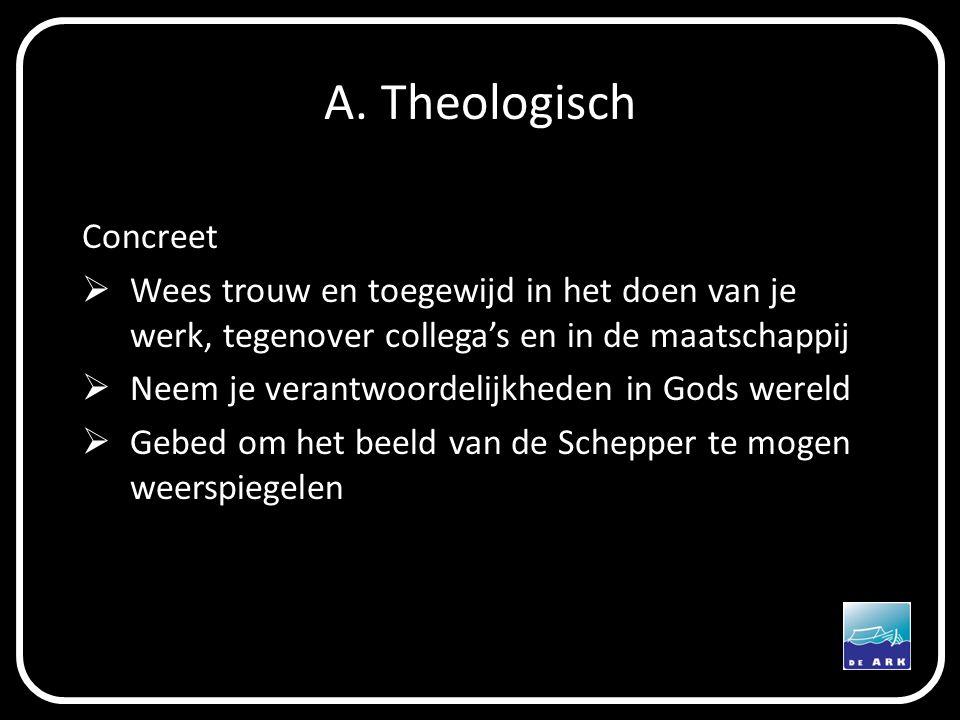 A. Theologisch Concreet