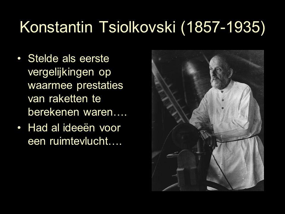 Konstantin Tsiolkovski (1857-1935)